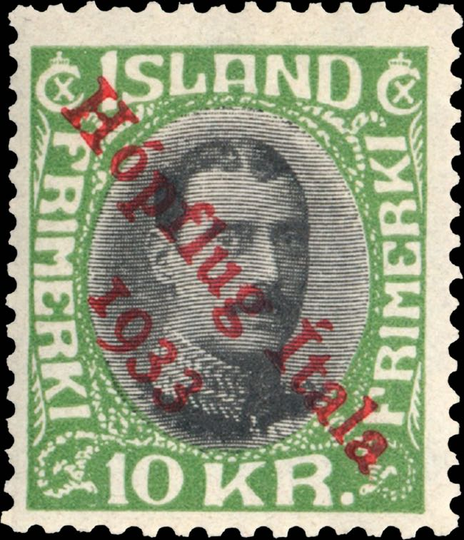 iceland_hupflug_italia_1933_10kr_genuine