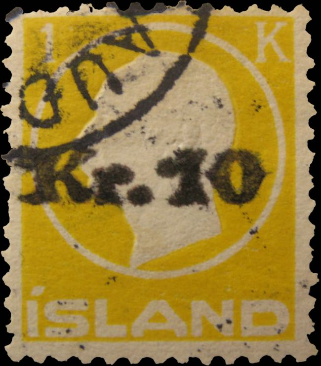 iceland_sigurdson_10kr_surchared_1kr_forgery