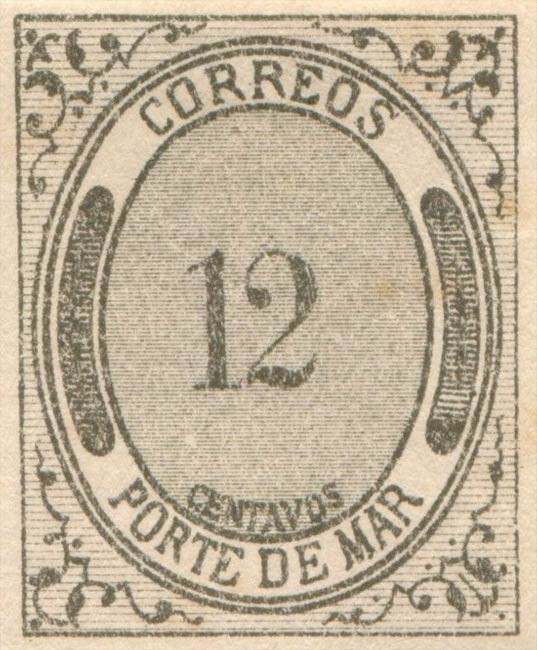 Mexico_1875_Porte_De_Mar_12c_Forgery