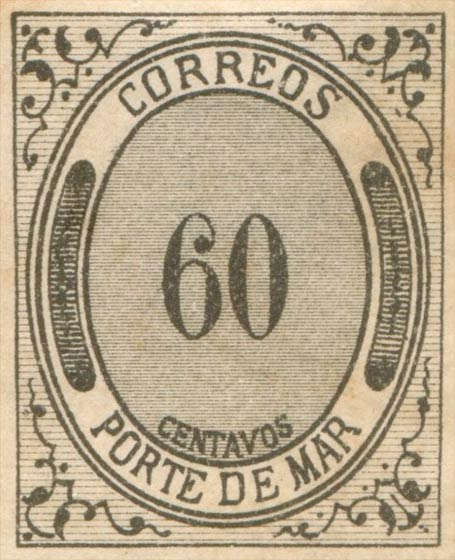 Mexico_1875_Porte_De_Mar_60c_Forgery