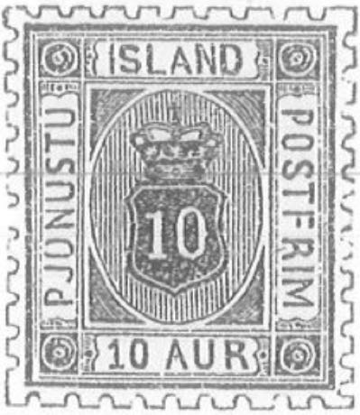 iceland_1876_official_10aur_Torres_Illustraion