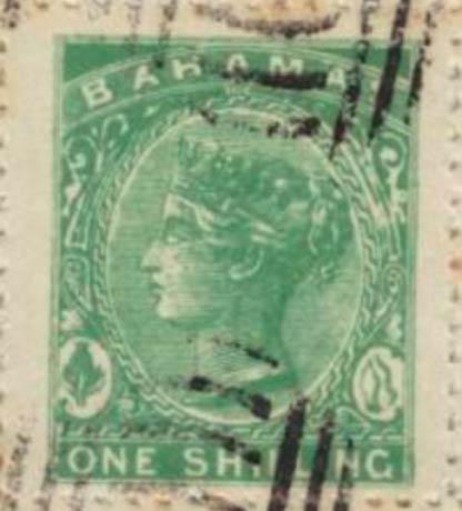 Bahamas_1865_QV_1s_Spiro_Forgery