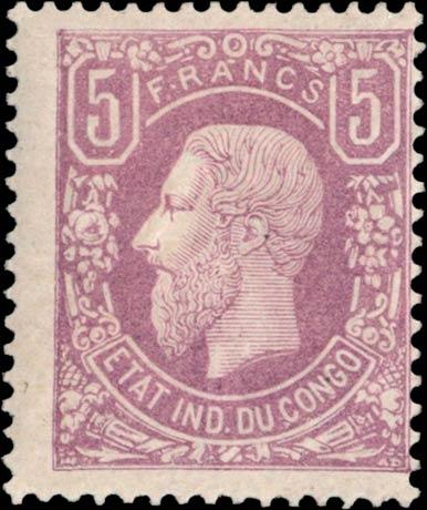 Belgian_Congo_1886_5f_Genuine