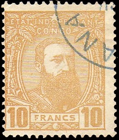 Belgian_Congo_1887_Leopold_10f_Forgery