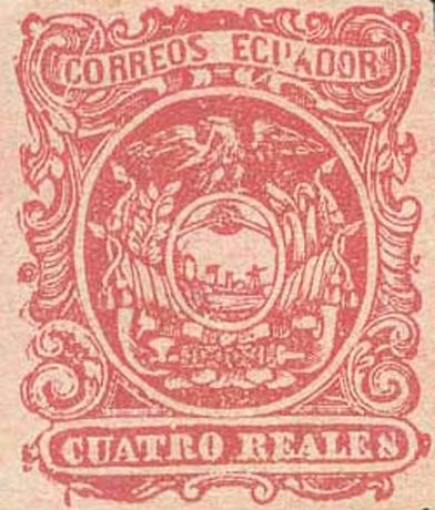 Ecuador_1865_Coat-of-Arms_Cuatro_Reales_Forgery