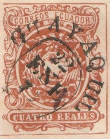 Ecuador_1865_Coat-of-Arms_Cuatro_Reales_Forgery2
