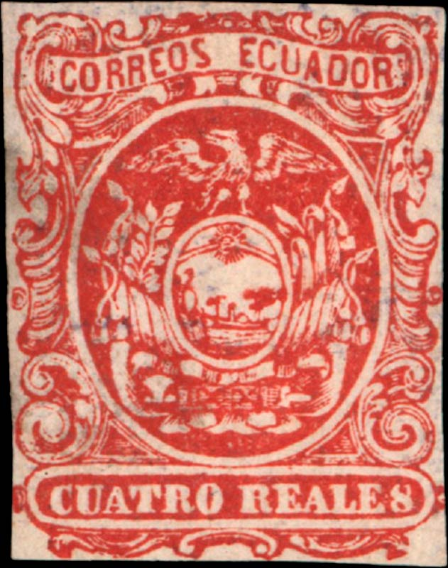 Ecuador_1865_Coat-of-Arms_Cuatro_Reales_Genuine