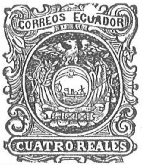 Ecuador_1865_Coat-of-Arms_Cuatro_Reales_Torres_illustration