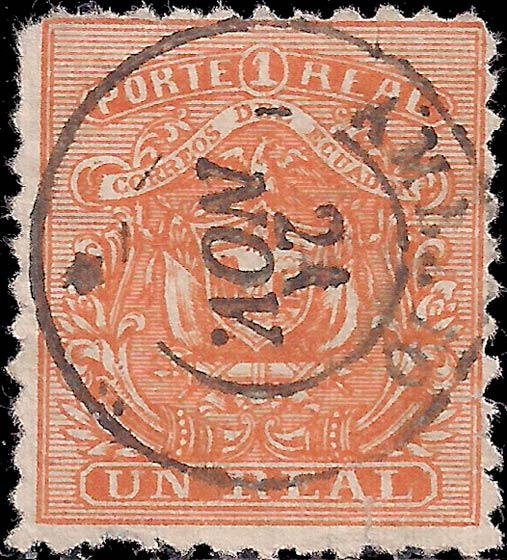 Ecuador_1872_Un_Real_Genuine