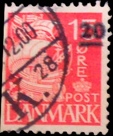 Faroe_Islands_1941_15ore_Surcharge20_Forgery