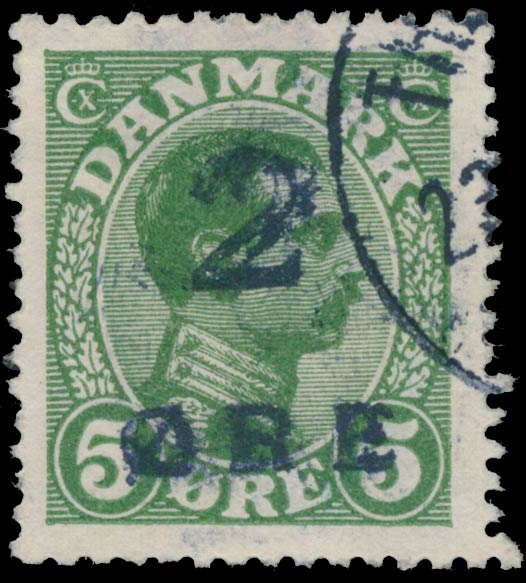 Faroe_Islands_1_Double_Overprint_Genuine
