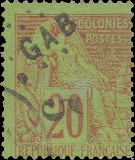 Gabon_1886_GAB-5_Forgery