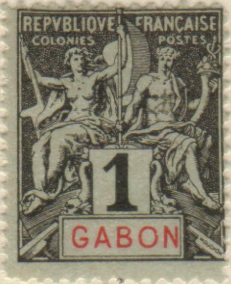 Gabon_1894_1c_Hirschburger_Forgery