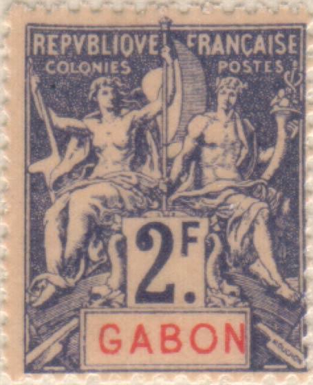 Gabon_1894_2f_Hirschburger_Forgery