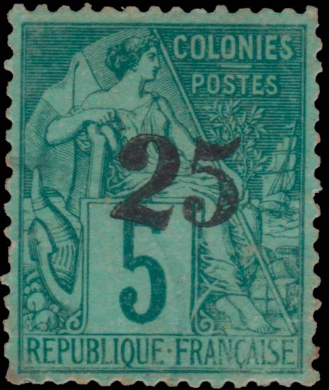 Gabon_25surcharge_Forgery