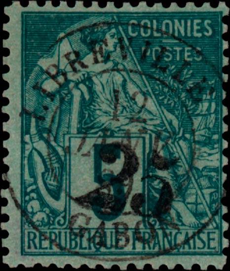 Gabon_25surcharge_Genuine