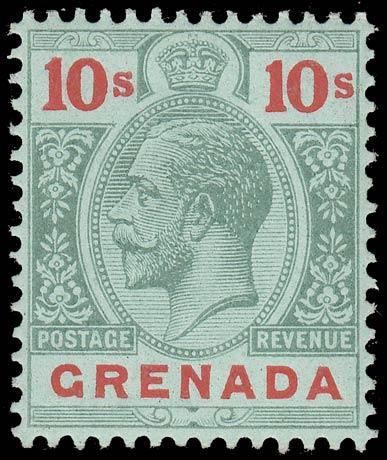 Grenada_King_George_V_10s_Genuine