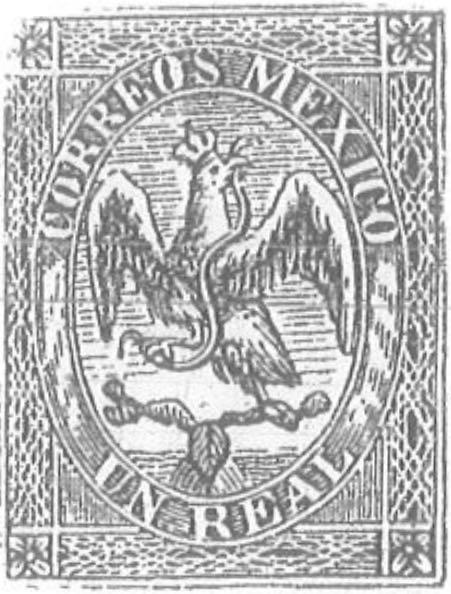 Mexico_1864_Eagle_Un_Real_Torres_illustration