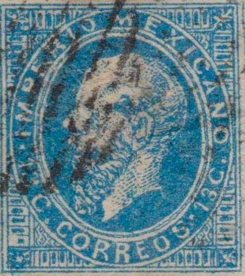 Mexico_1866_13c_Forgery