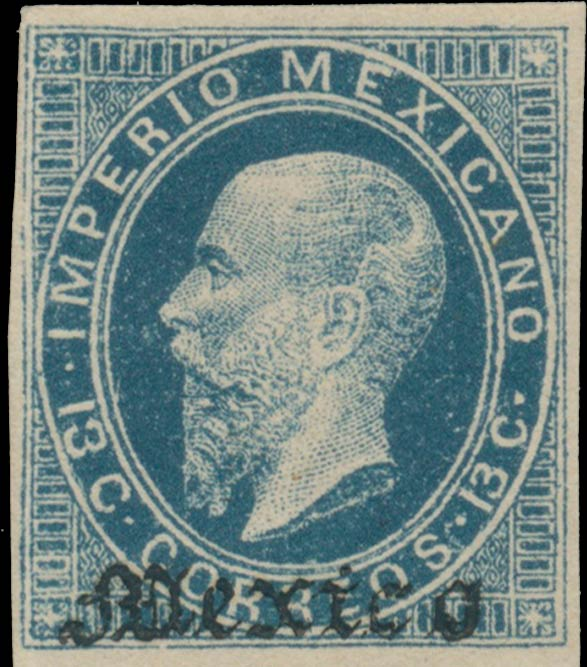 Mexico_1866_13c_Genuine2