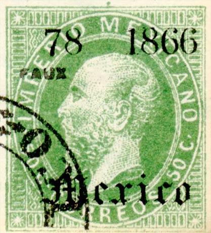 Mexico_1868_50c_Fournier_Forgery