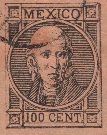 Mexico_1868_Hidalgo_100c_Forgery