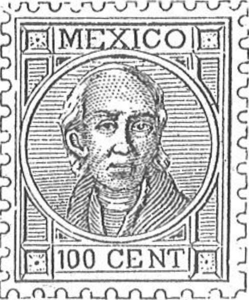 Mexico_1868_Hidalgo_100c_Torres_illustration