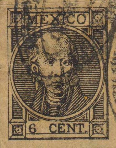 Mexico_1868_Hidalgo_6c_Forgery