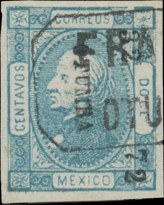 Mexico_1872_12c_Genuine1