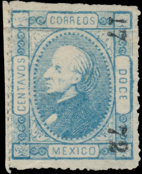 Mexico_1872_12c_Genuine2