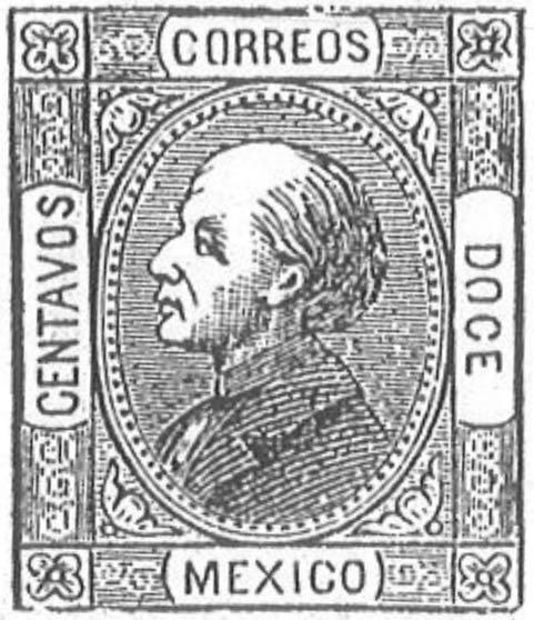 Mexico_1872_12c_Torres_illustration