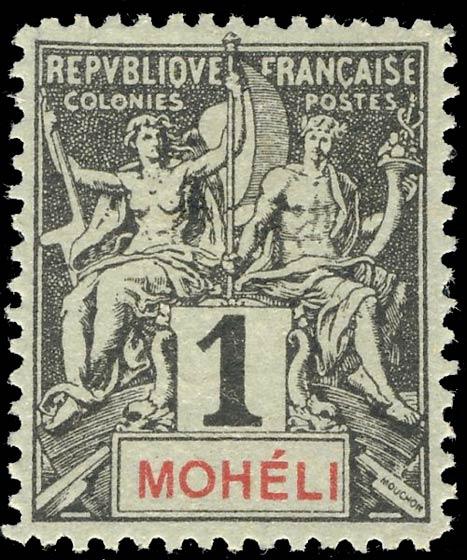 Moheli_1892_1c_Hirschburger_Forgery