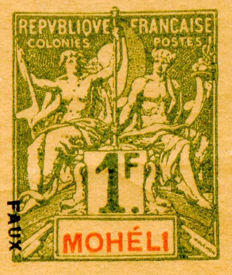 Moheli_1892_1f_Hirschburger_Forgery