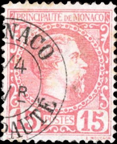 Monaco_1885_15c_Forgery