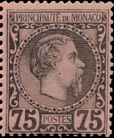 Monaco_1885_75c_Genuine