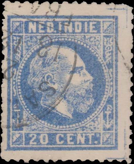 Netherlands_Indies_1870_Wilhelm_20c_Spiro_Forgery