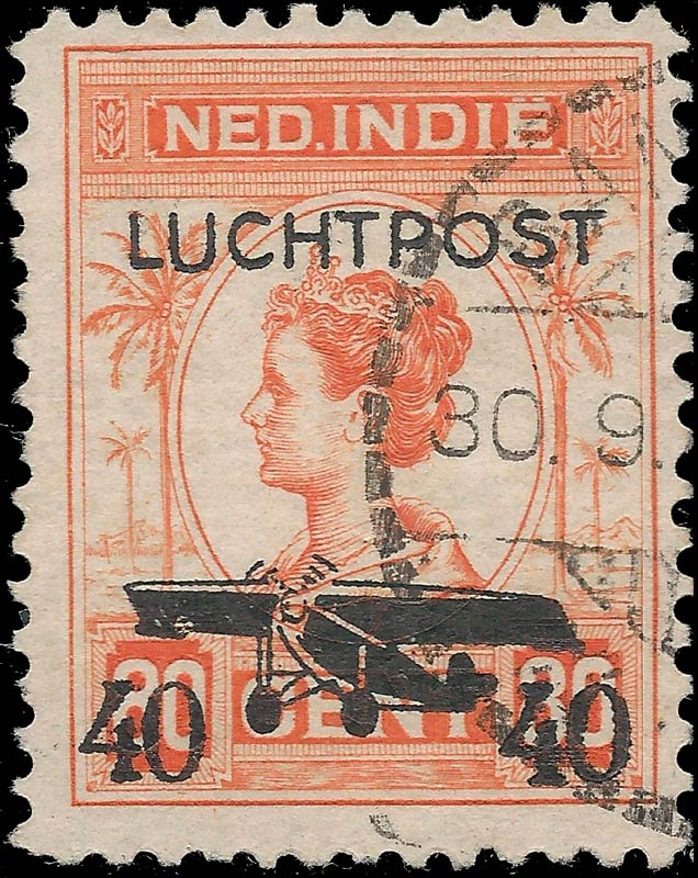 Netherlands_Indies_1928_Airmail_40on80cents_Forgery