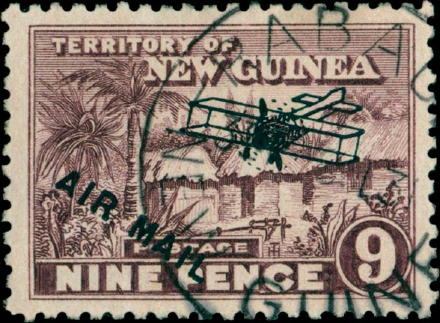 New_Guinea_Airmail_9p_Madame_Joseph_Forgery