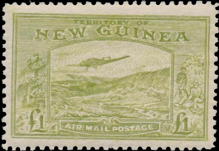 New_Guinea_Bulolo_1pound_Panelli_Forgery