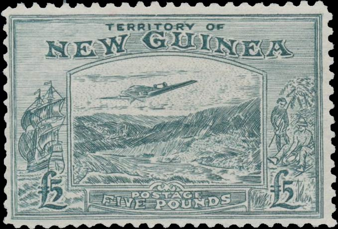 New_Guinea_Bulolo_5pound_Panelli_Forgery