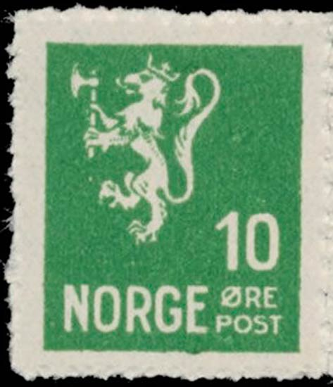 Norway_1930_Lion_10ore_Postal_Forgery