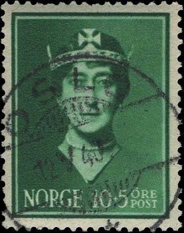 Norway_Maud10-5ore_Oslo_Forged_Postmark1