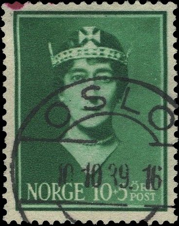 Norway_Maud10-5ore_Oslo_Forged_Postmark2