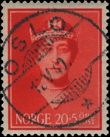 Norway_Maud20-5ore_Oslo_Forged_Postmark2