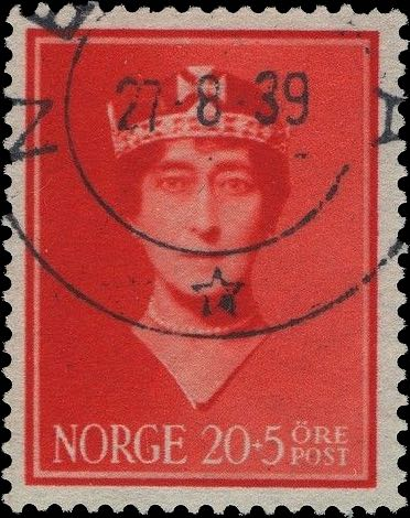 Norway_Maud20-5ore_Oslo_Forged_Postmark4