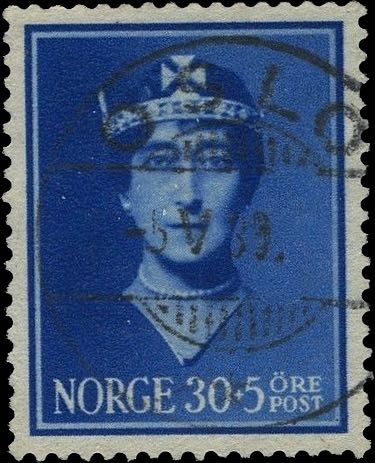 Norway_Maud30-5ore_Oslo_Forged_Postmark2