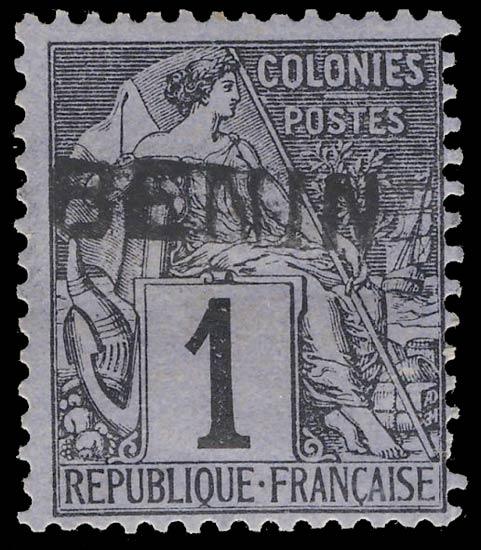 Benin_1892_1c_Genuine1