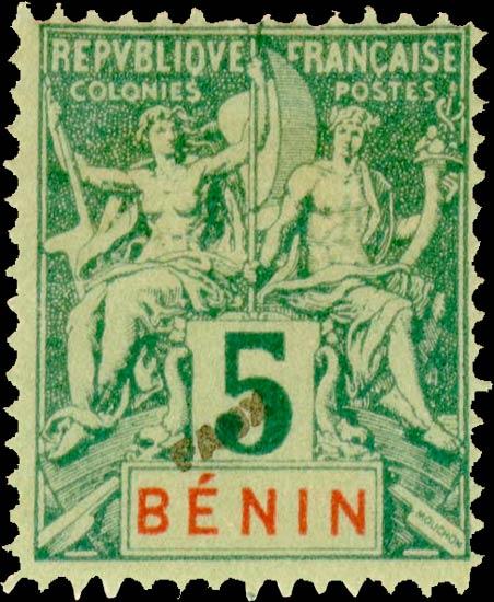 Benin_1892_5c_Hirschburger_Forgery