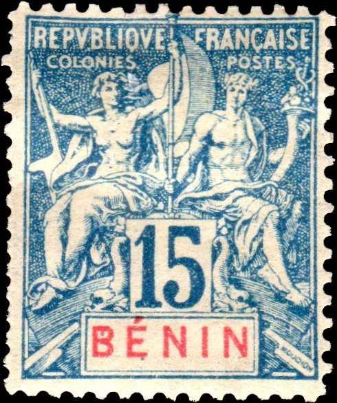 Benin_1894_15c_Hirschburger_Forgery
