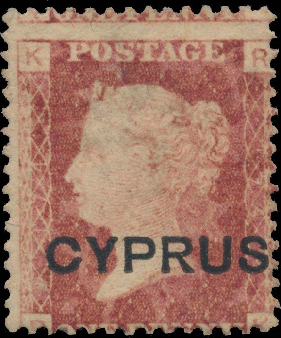 Cyprus_1880_QV_1d_plate174_Genuine